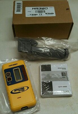 Spectra Precision Hr320 Laser Receiver Detector Works W Topcon Leica Cst Agl
