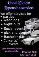 LIMOUSINE SERVICE FOR ANY EVENT BOOK NOW