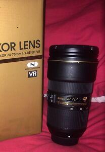 Nikon Nikkor lens 24-70f2.8 ED VR (NEW) South Brisbane Brisbane South West Preview