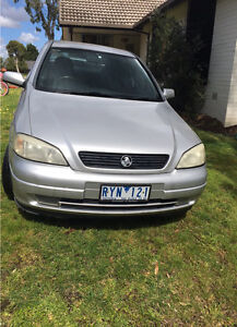 2002 Holden Astra Equip Manual 5 door hatch Yallambie Banyule Area Preview