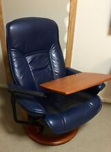 Ekornes Stressless leather swivel recliner Fairview Park Tea Tree Gully Area Preview