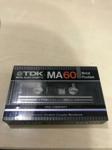 New Sealed TDK MA60(1982)