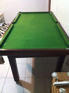 Slate pool table Frenchs Forest Warringah Area Preview
