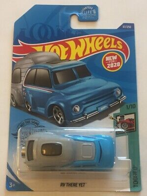 "2020 Hot Wheels RV THERE YET TOONED Blue/Gray ""Super Rare Error"""