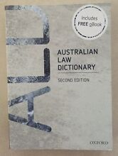 Australian Law Dictionary Victoria Point Redland Area Preview