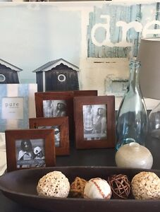 5 x TIMBER PHOTO FRAMES Sippy Downs Maroochydore Area Preview