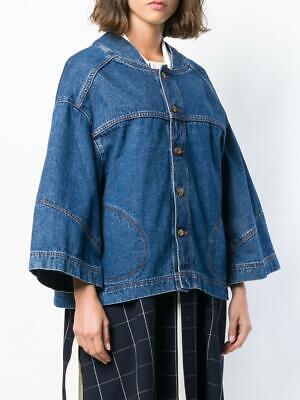 NWT Henrik Vibskov Denim Pound Jacket in Blue S oversized $365