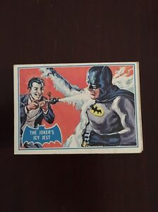 Blue and Red Batman Cards 1966 Cheltenham Hornsby Area Preview
