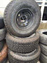 Steel rims and tyres Old Guildford Fairfield Area Preview