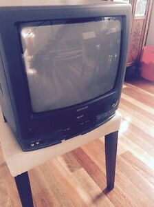 Sharp TV & Built in Video Player (VHS HQ) Beaumaris Bayside Area Preview