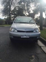 Toyota Echo Auto  long rego + RWC Forest Hill Whitehorse Area Preview