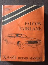 Ford Falcon Fairlane XA-ZF repair manual Stirling Stirling Area Preview