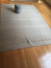 100% Wool rug in Sand Colour 2x3 m originally priced at $1250 Ultimo Inner Sydney Preview