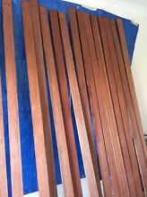NEW Stained meranti hardwood timber slats decorative feature wall DIY Warradale Marion Area Preview