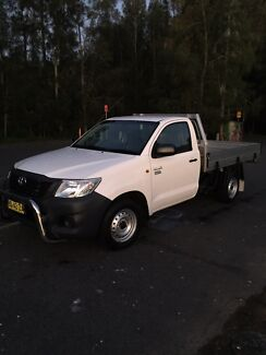 2012 hilux workmate 54xxxkms