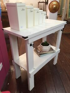 Shabby chic hall table/bench Bassendean Bassendean Area Preview