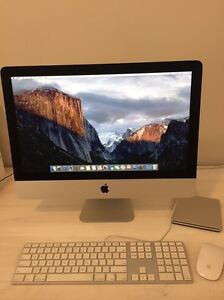 Like new Apple iMac 21.5inch with brand new 1tb hard drive Point Cook Wyndham Area Preview
