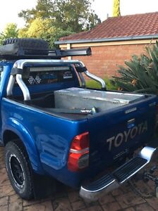 2013 sr5 dual cab tub, roll bar, rear bar Rowville Knox Area Preview