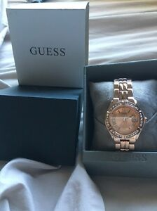 Womens Guess Watch Logan Reserve Logan Area Preview