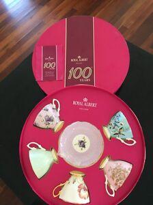Royal Albert Tea Cups & Saucers x 5 Loganholme Logan Area Preview