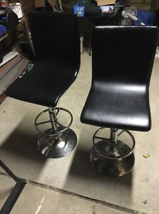 Black adjustable bar stools Wollongong Wollongong Area Preview