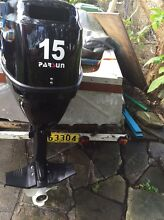 15 hp Parsun  four stroke long shaft outboard not Yamaha East Lindfield Ku-ring-gai Area Preview