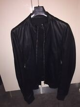 Rick Owens – Leather Bomber Jacket size M Sydney City Inner Sydney Preview