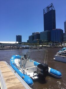 6.75 RIB with 200HP Mercury Outboard Forsale Melville Melville Area Preview