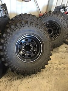 """35"""" x 10.5"""" x 16"""" 4x4 wheels and tyres need gone!!! Legana West Tamar Preview"""