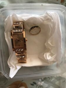 Guess watch and ring, never worn. Manning South Perth Area Preview