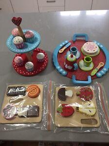 Kids kitchen wooden food Armidale Armidale City Preview