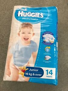 Nappies Huggies junior 16kg + Beaconsfield Fremantle Area Preview