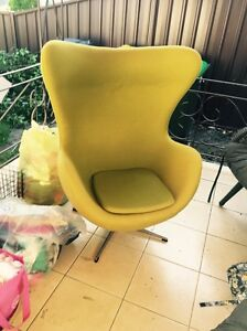 Arne Jacobsen Replica Wool Armchair Richmond Hawkesbury Area Preview