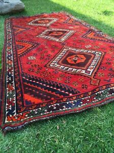 Amazing Hand Made Rug Antique Persian Carpet Pure Wool Cammeray North Sydney Area Preview
