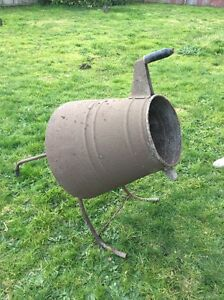 Antique cement mixer Moe Latrobe Valley Preview
