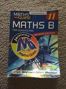 Maths Quest: Maths B Year 11 for Queensland Everton Hills Brisbane North West Preview