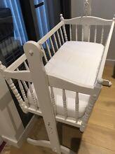 Antique baby rocking cradle/ bassinet Collingwood Yarra Area Preview