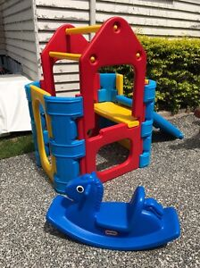 Little Tikes Rocker & Outdoor Climbing Play Gym with SPRINKLER BAR Brighton Brisbane North East Preview