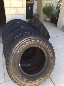 5 x Mickey Thompson Baja ATZ tyres Stirling Stirling Area Preview
