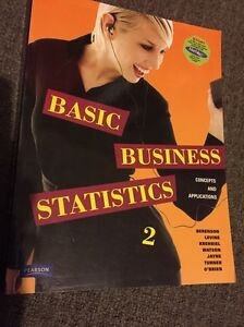 Basic Business Statistics Kangaroo Point Brisbane South East Preview
