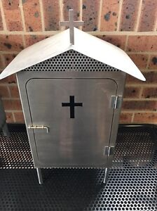 Stainless Steel Vigil Box Warabrook Newcastle Area Preview