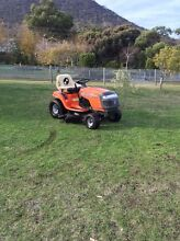 Ride on Lawn Mower - Husqvarna with Trailer Otago Clarence Area Preview