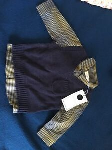 Long sleeves shirt with vest BNWT 000 Bexley North Rockdale Area Preview
