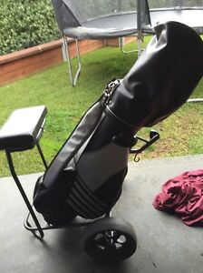 Golf clubs full set plus buggy Doreen Nillumbik Area Preview