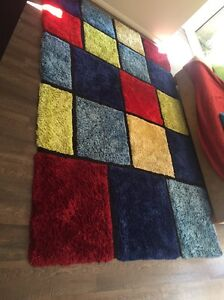 Great condition Harvey Norman 'Florida Blocks' Rug 190 x 280 Newcastle Newcastle Area Preview