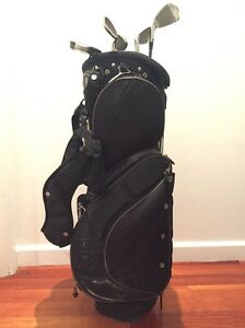 Wilson Golf bag with clubs Heidelberg Banyule Area Preview