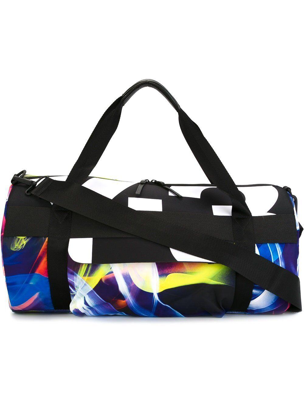 c77e9cb60b90 ... Adidas Y-3 Yohji Yamamoto Qasa Gym Bag AP6297 Logo Sport Luxury Black  Very RARE ...