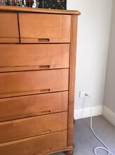 Bed and cloth chest / wardrobe Hunters Hill Hunters Hill Area Preview