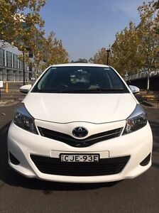 Toyota Yaris YRS November 2012 / condition same as a brand new Car Homebush Strathfield Area Preview