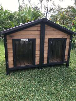 Dog Kennel XL Double Door with divider